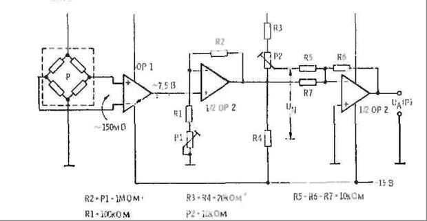 Принципиальная схема барометра